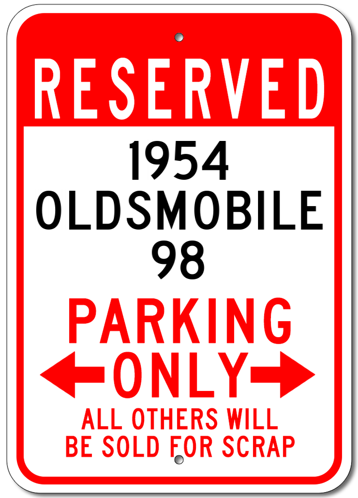 1933 33 CHEVY  Parking Sign