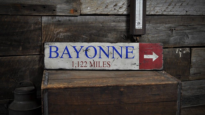 Custom Cape Cod Canal Arrow Sign Rustic Hand Made Vintage Wooden ENS1000588