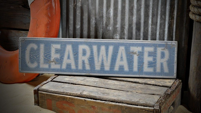 Town Sign Rustic Hand Made Vintage Wooden Sign ENS1000168 Custom City