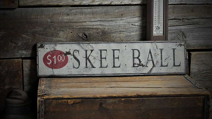 Rustic Hand Made Vintage Wooden ENS1000483 Distressed Dog House Sign