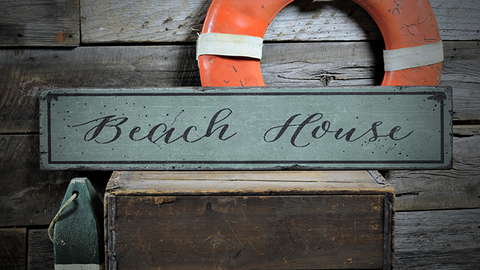 Details About Beach Wall Decor Beach House Beach Rustic Distressed Wood Sign Ens1000847